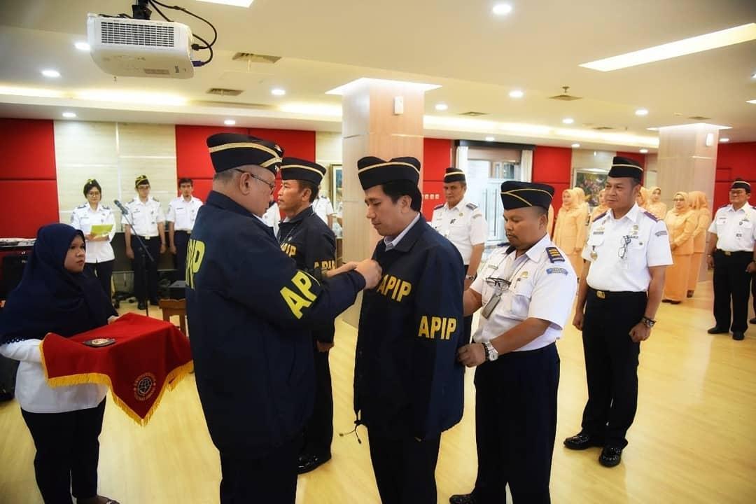 Serah Terima Jabatan Inspektur II Dan Inspektur III