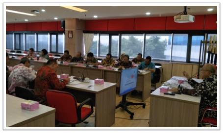 Irjen Gelar Rapat Staf Usai Menghadiri Rakornas APIP K/L Terkait Peran Strategis APIP Dalam Optimalisasi Penerimaan Negara dan PNBP di Kemenhub