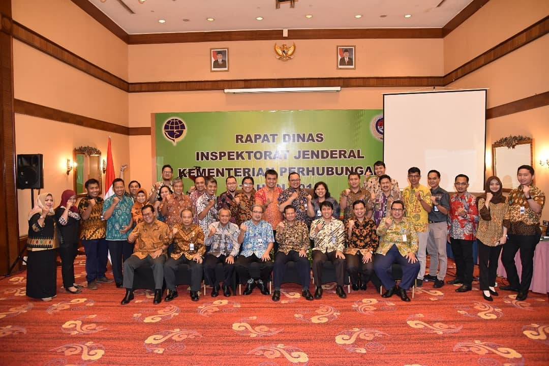 Rapat Dinas Inspektorat Jenderal TA 2018