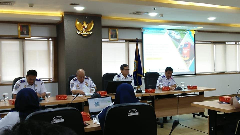 Irjen Kemenhub menjadi Narasumber di Lingkungan Direktorat Jenderal Perkeretaapian
