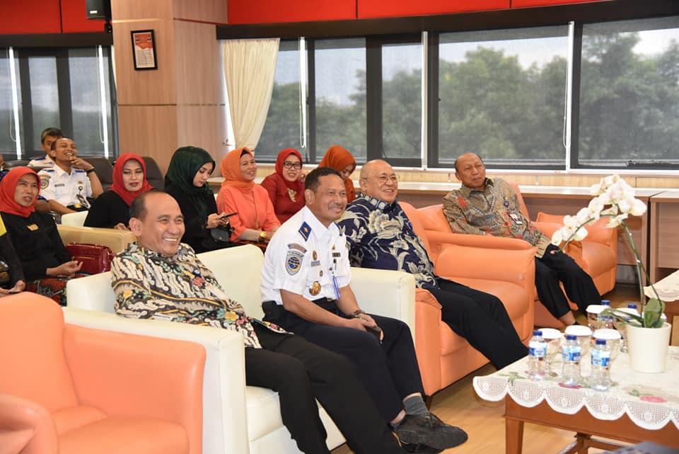 Itjen Kementerian Perhubungan Mengadakan Acara Pisah Sambut Sekretaris Inspektorat Jenderal dan Silahturahim