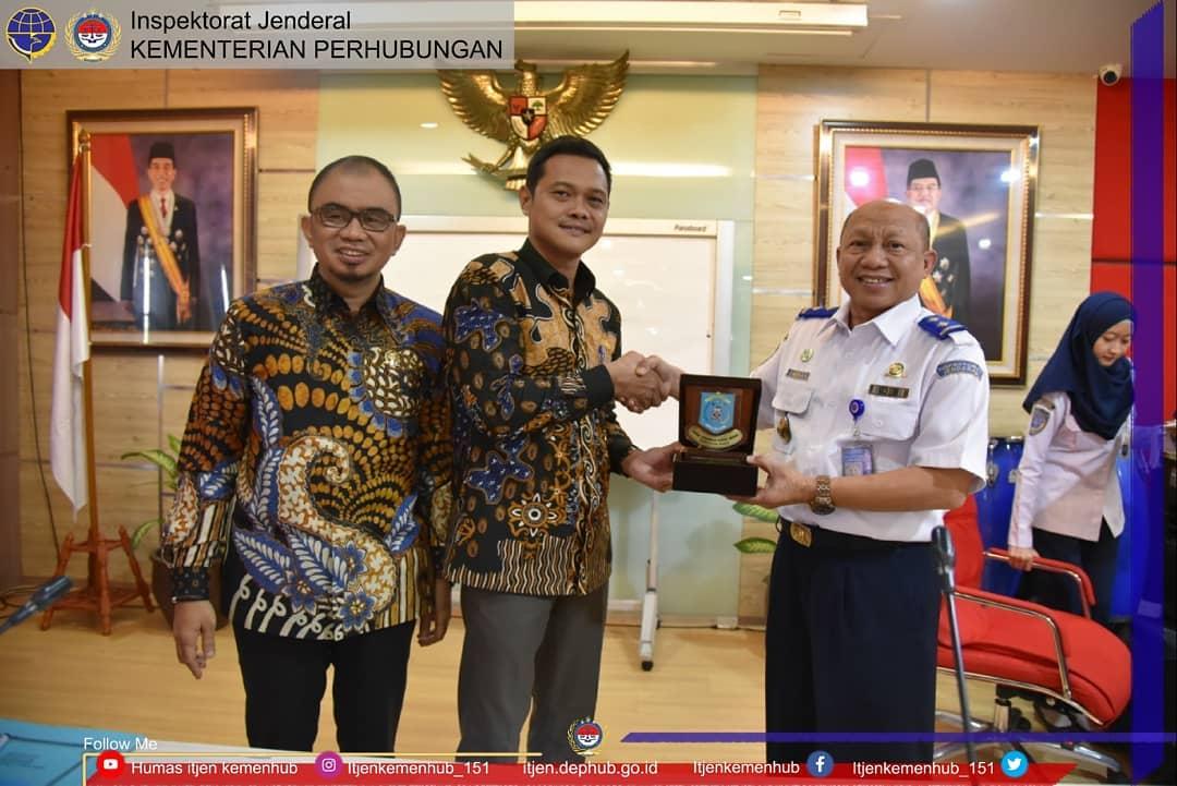 Diskusi DPRD Kabupaten Paser dengan Kementerian Perhubungan.