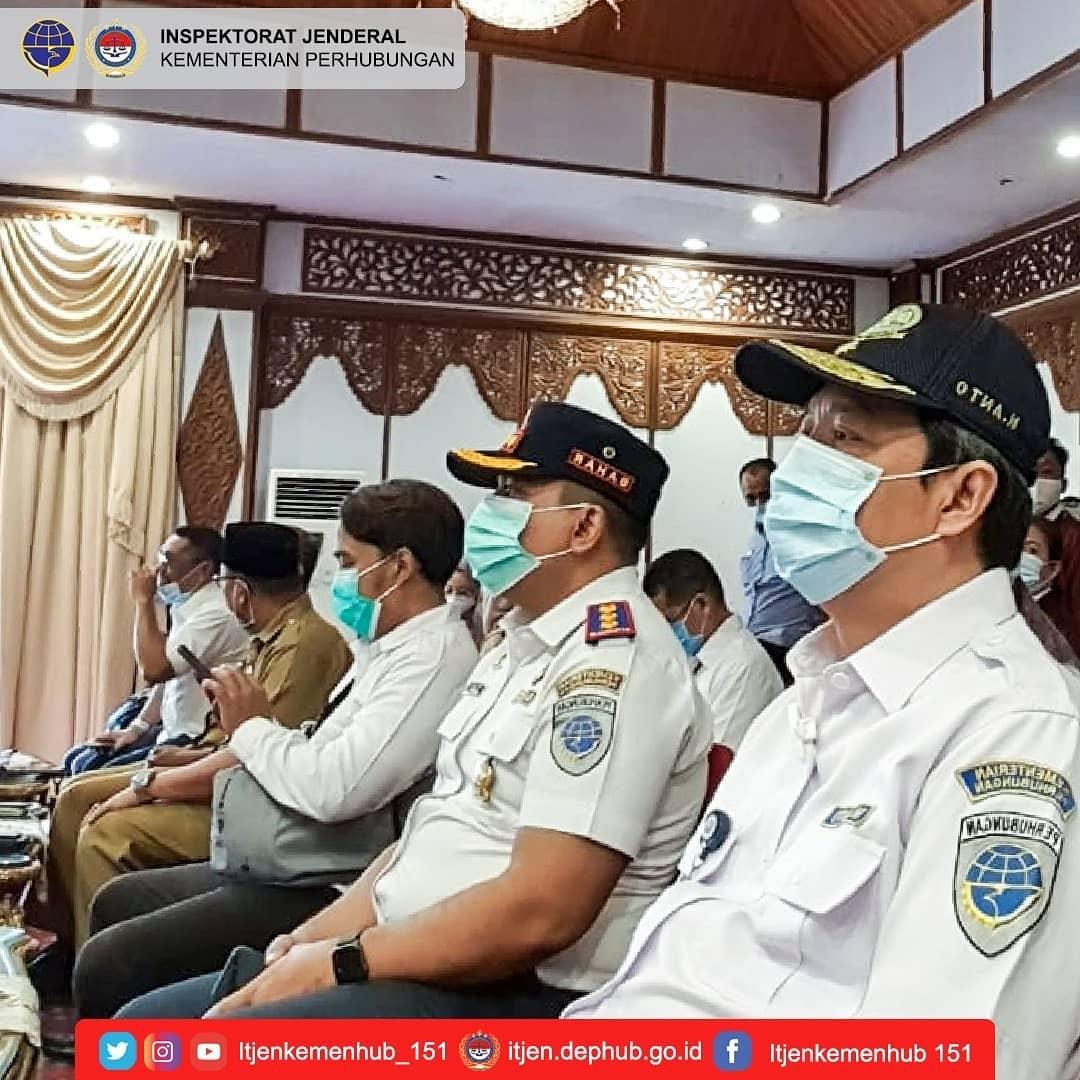 Pendampingan Kunjungan Kerja Komisi V DPR