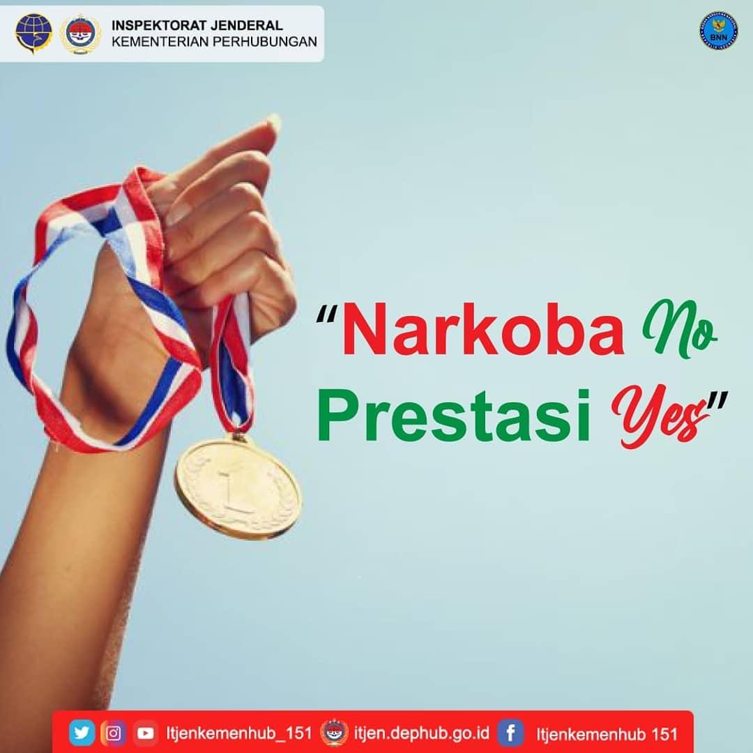 Campaign Narkoba sesuai  Instruksi Presiden (Inpres) Nomor 2 Tahun 2020