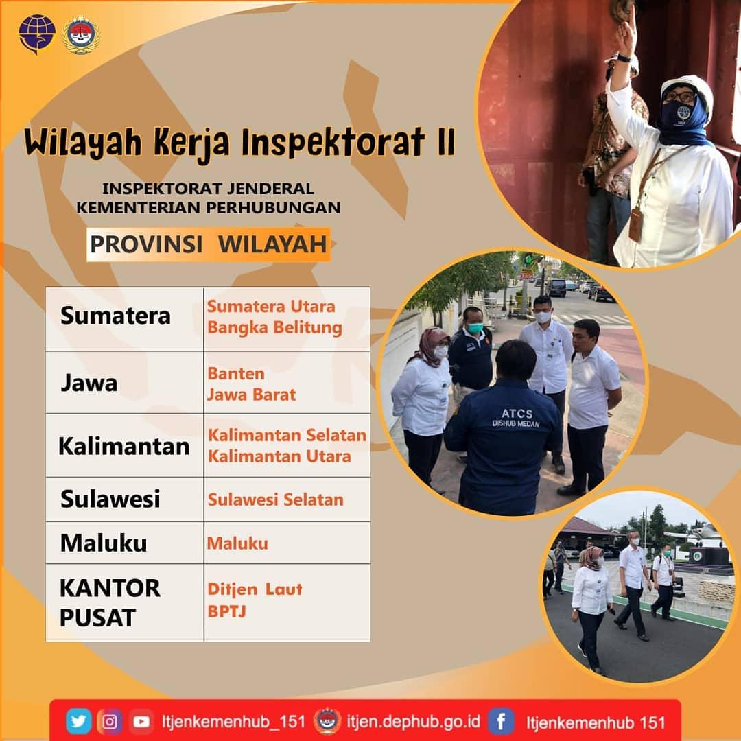Wilayah Kerja Inspektorat II