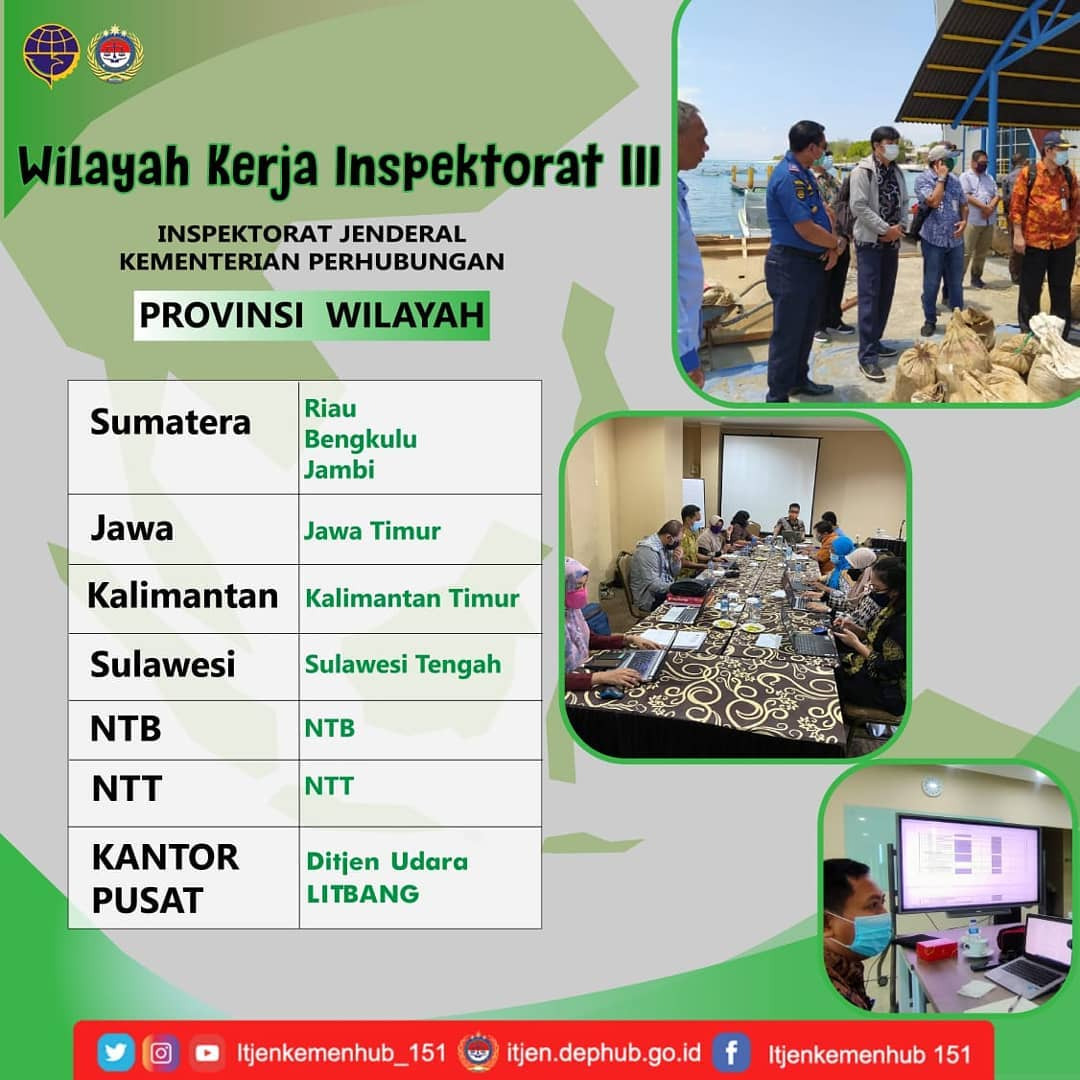 Wilayah Kerja Inspektorat III