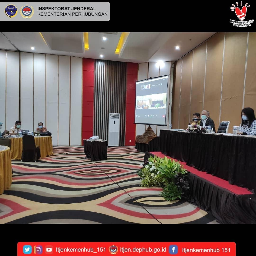 Reviu atas Draft Laporan Kinerja Kementerian Perhubungan Tahun 2020
