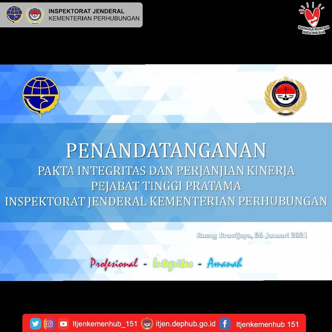 Penandatatanganan Pakta Integritas