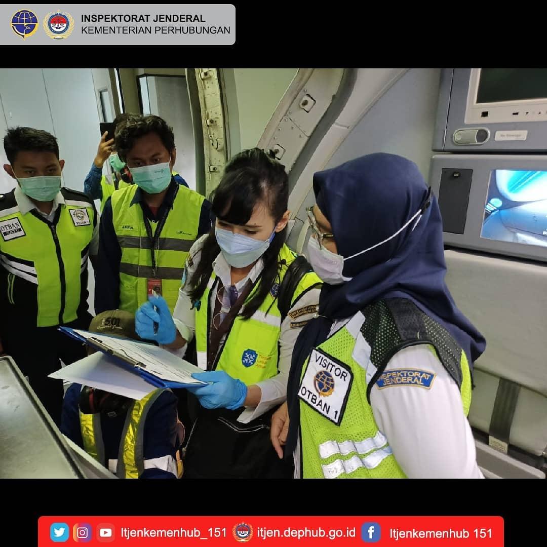 audit kinerja terhadap unit penyelenggara teknis Kementerian Perhubungan.